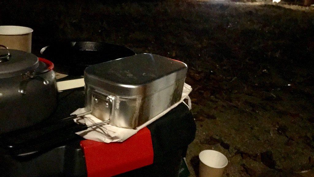 トランギアのメスティン「TR-210」炊飯手順⑦