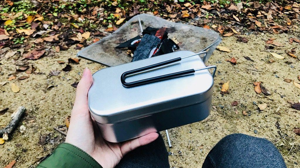 キャンプ用具での自炊にオススメのギア:メスティン