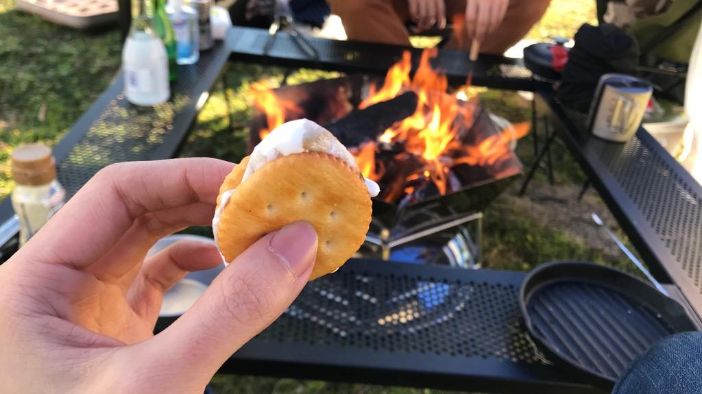 ベランピングにおすすめの料理・食べ物:スモア
