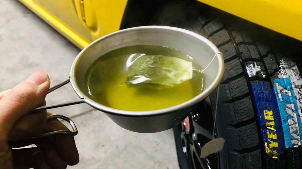 シェラカップのデメリット:飲み物などが冷めやすい