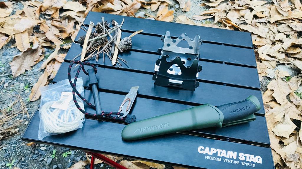 CAPTAIN STAG(キャプテンスタッグ) ジュラルミンロールテーブル