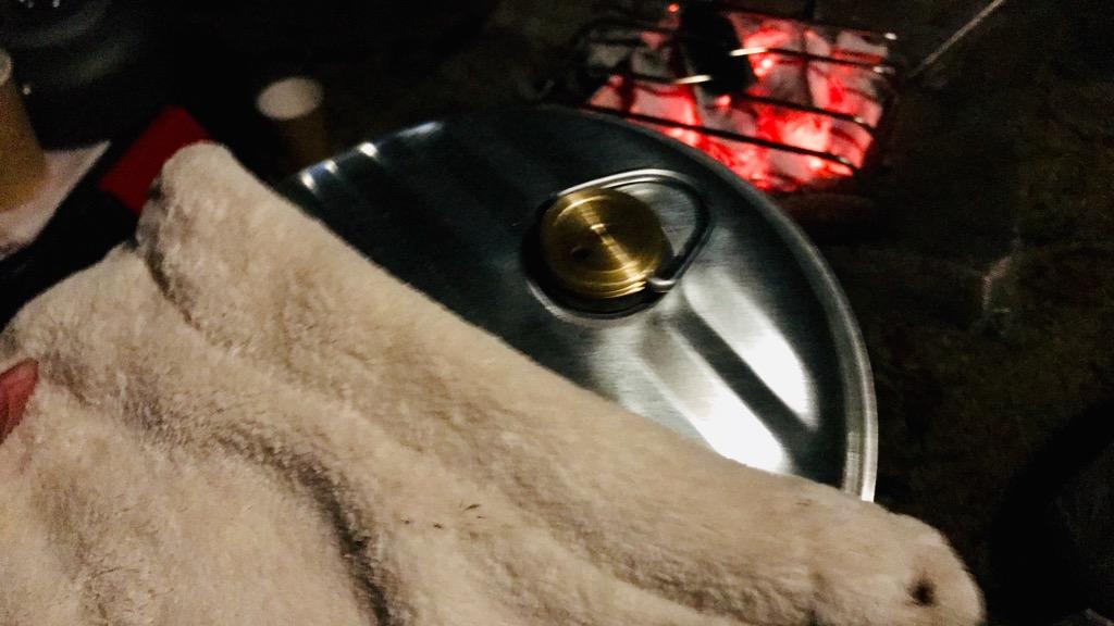 マルカ 湯たんぽAエースの使用感:直火で加熱できるのはやはり便利。あたたかさも丁度良い