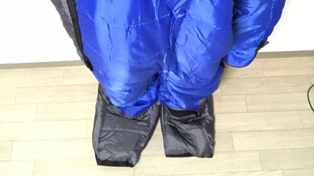 KingCamp 歩ける寝袋の使用感:大きめを買ったほうが良い、耐寒性能はあまり高くない