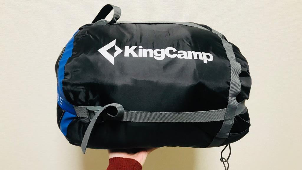KingCamp 歩ける寝袋のデメリット・悪いところ:耐寒温度の割にサイズが大きい、収納も結構大変