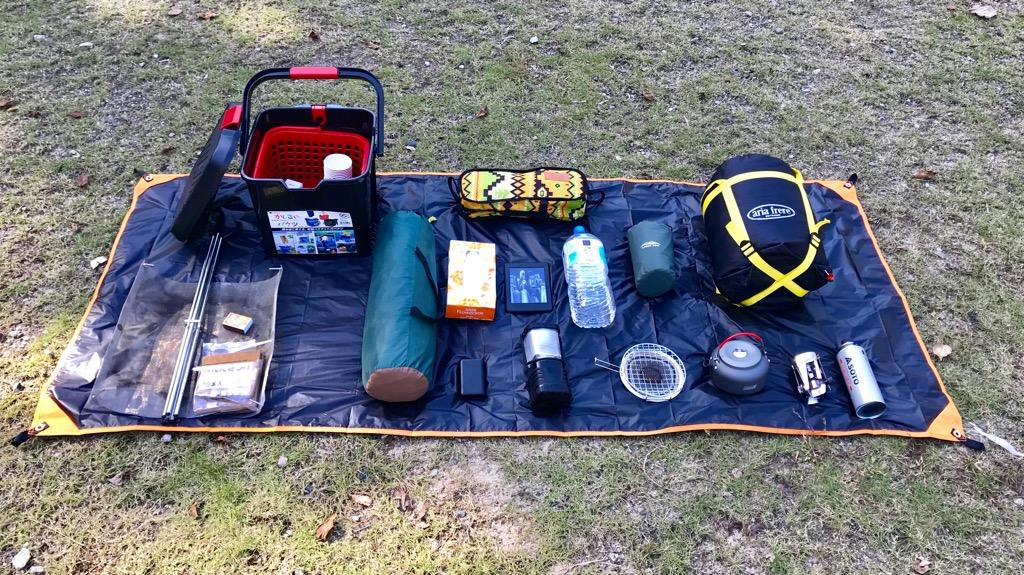 キャンプのデメリット①:必要なものを揃えるのにちょっとお金がかかる