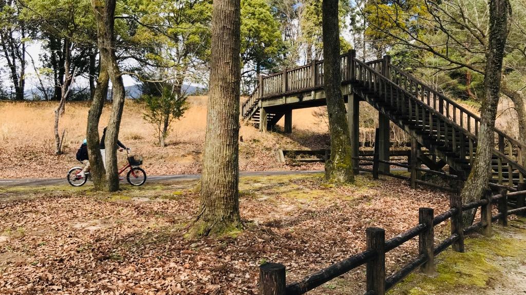 北山キャンプ場のメリット・良いところ:超広い敷地!釣りやサイクリングとかも楽しめる