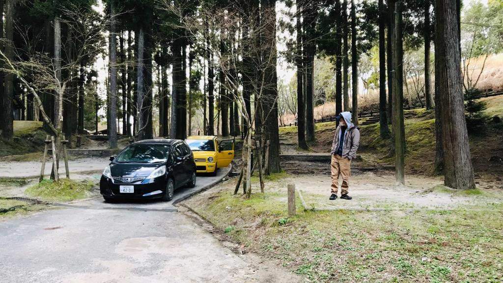北山キャンプ場のデメリット・注意点:道は結構せまめ。すれ違うの難しいかも