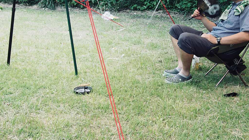 キャンプでの虫対策①:王道、蚊取り線香。森林香が良く効くらしい