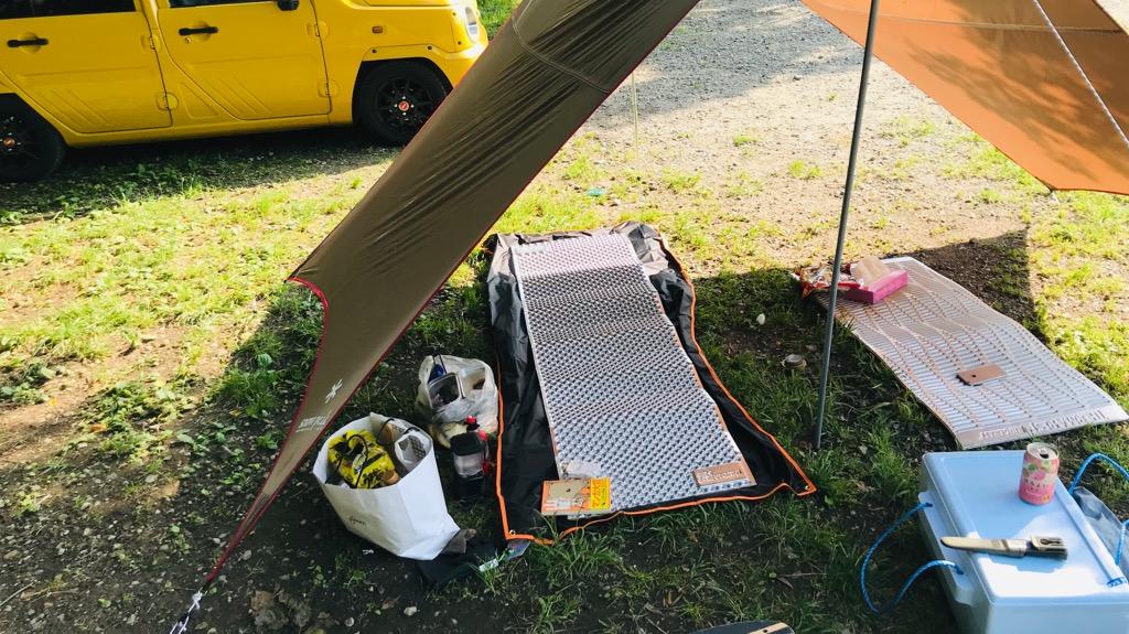 サーマレスト Zライトソルとは折り畳み式のキャンプ用マット