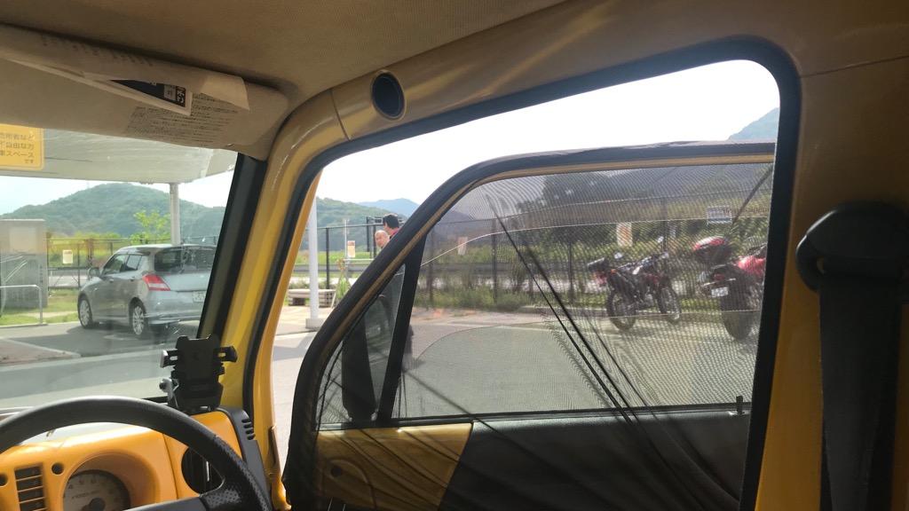 ウィンドーネット(車窓ネット)の取り付け方